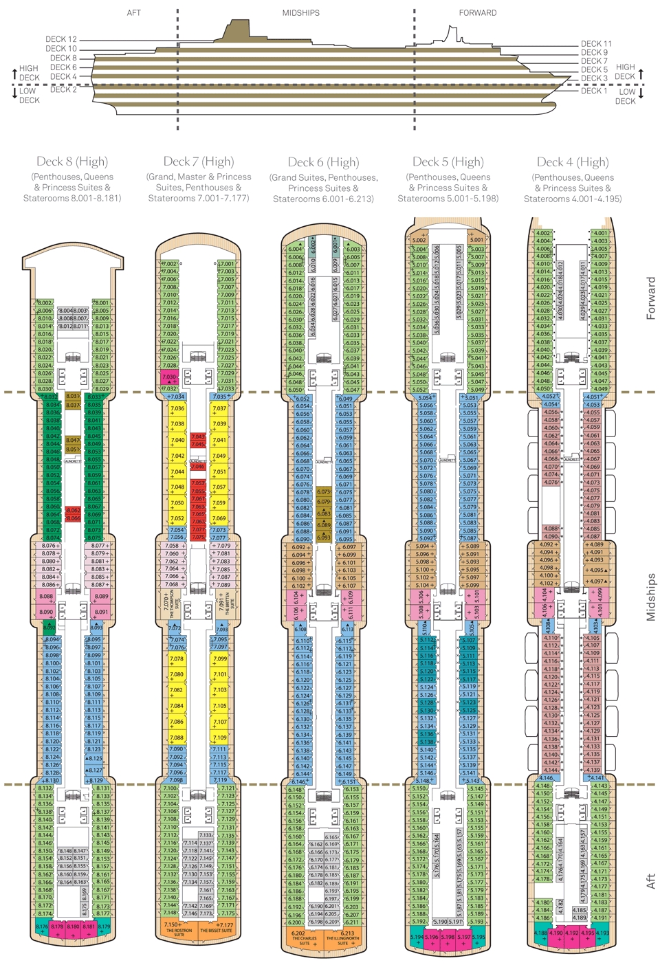 Queen mary 2 deck plan 2016 image information queen mary 2 deck plan 2016 baanklon Gallery