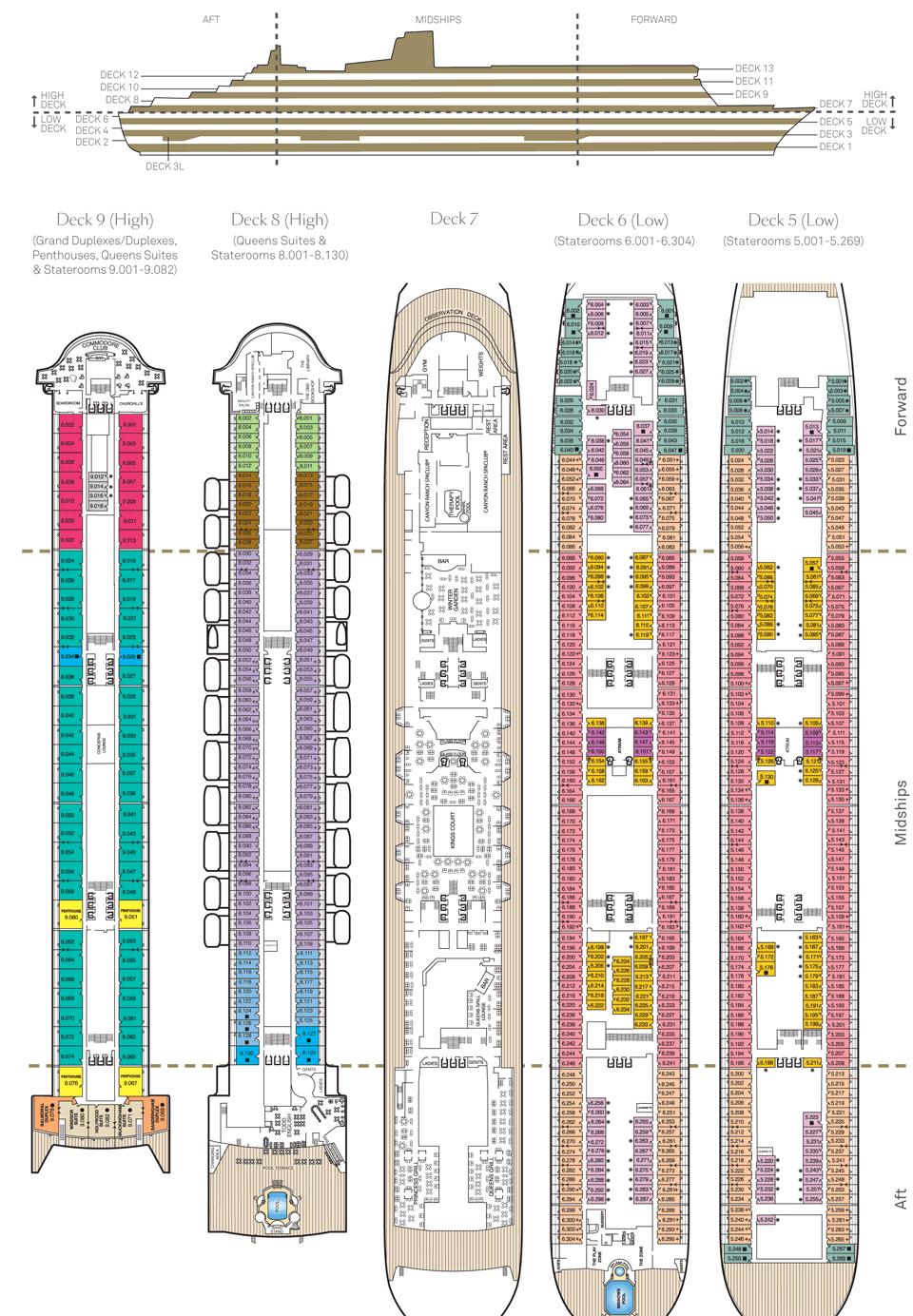 Queen Victoria Deck Plans Andybrauer Com