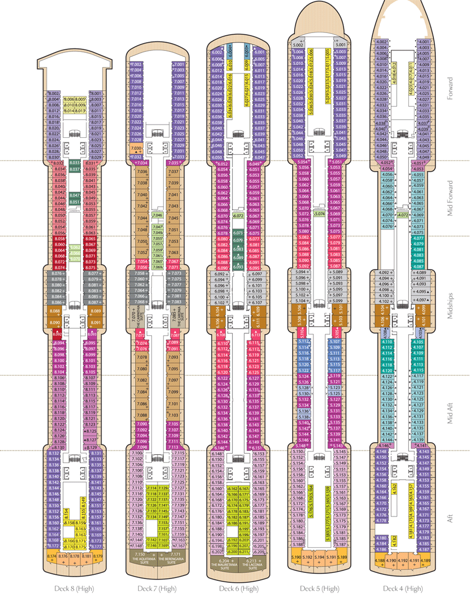 26 luxury queen victoria cruise ship deck plans fitbudha cunard baanklon Image collections